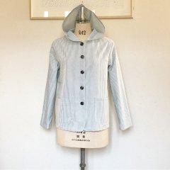 No.7024   フード付きシャツジャケット(レディース)