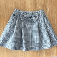 No.7021 2タックリボンスカート