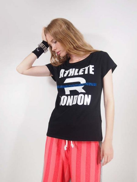 ◎新商品★R-LONDON★アスリートラインTシャツ