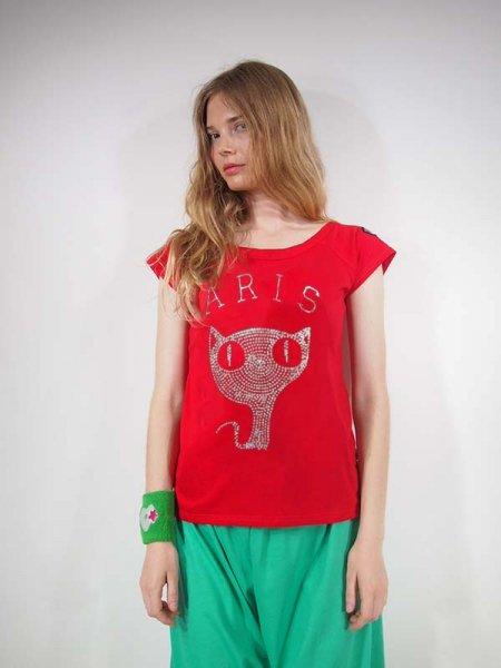 ◎新商品★ARIS★ARISキャットメタルラグランTシャツ