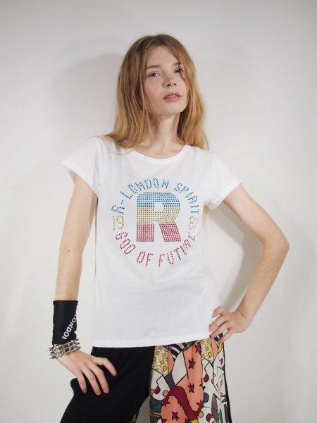 ◎新商品★R-LONDON★トリコロールサークルR Tシャツ