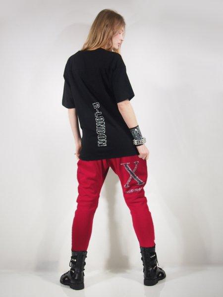 【送料無料】◎新商品★R-LONDON★NEWカラーXラインストーンラップバックサイドラインパンツ