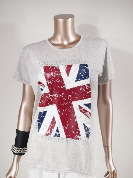 ◎新商品★R-LONDON★イングランドフレームビッグTシャツ