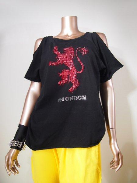 ◎新商品★R-LONDON★レッドライオンホーリングオーバーTシャツ