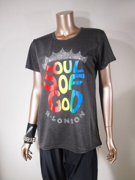 ◎新商品★R-LONDON★クラウンSOUL OF GODビッグTシャツ