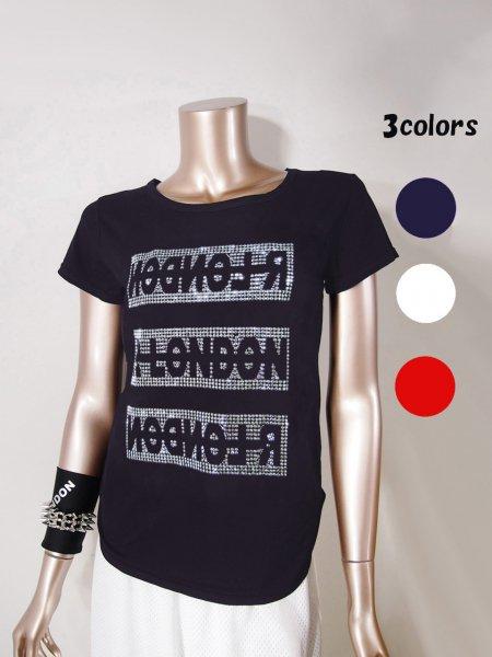 ◎新商品★R-LONDON★フリップメタルロゴTシャツ