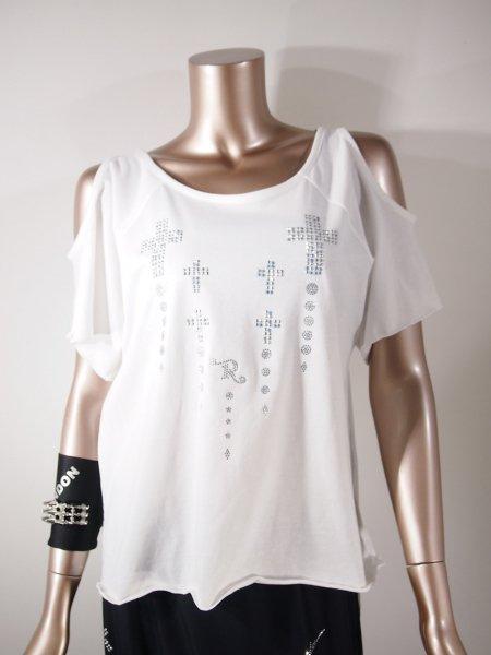 ◎新商品★R-LONDON★クロスドロップホーリングオーバーTシャツ