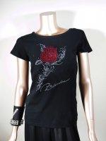 ◎新商品★R-LONDON★ローズ&サインTシャツ