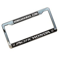 HONDA HAWAII  PACIFIC HONDA license plate frames
