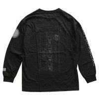 Hectopascal Original  SR Long Shirts tee  BLACK