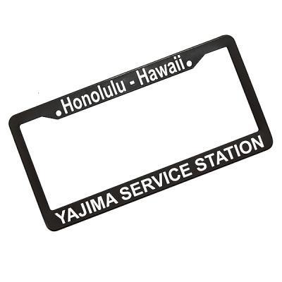 YAJIMA SS FrameHONOLULU HAWAIIlicense plate frames - Hectopascal ...