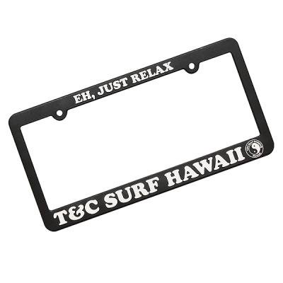 T&C FrameEH JUST RELAXlicense plate frames - Hectopascal - Import ...