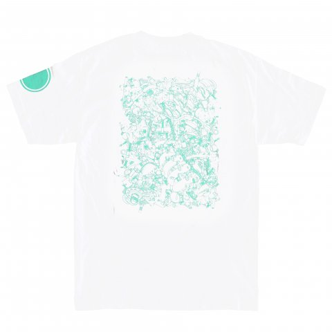 Hectopascal 2018 S/S   SR20 PARTS Tee White×Mint