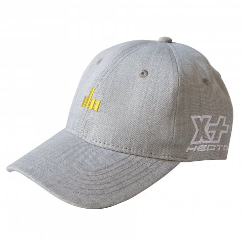 Hectopascal Original   EFF U 6 Panel Hat Heather Gray×Max Yellow