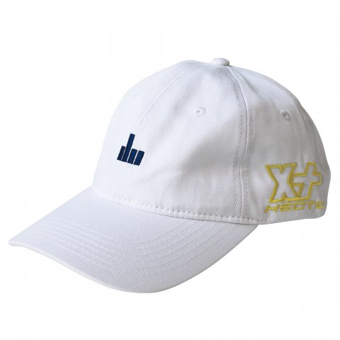 Hectopascal Original   EFF U 6 Panel Hat White×Navy/Max Yellow