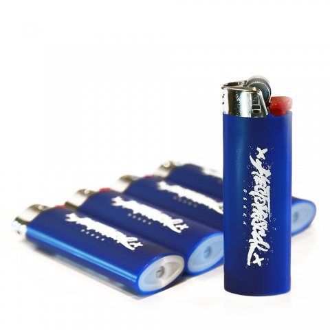 Hectopascal Original   Logo BIC Lighter Blue/White