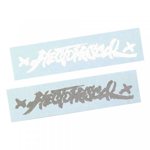 Hectopascal Original   Die cut sticker White/Black