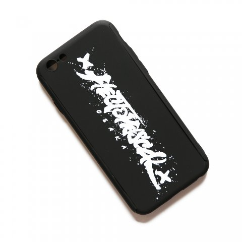 Hectopascal 2018  Logo iPhone 360° case  6/7/8(Plus)/10 マットブラック