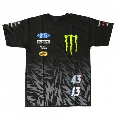 HOONIGAN  HRD MECHANICS SS TEE BLACK/LOGOS