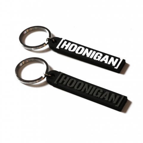 HOONIGAN  CENSOR BAR keychain BLACK/GRAY