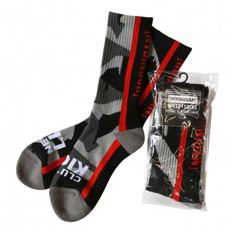 HOONIGAN  GEO DRIP CAMO Socks