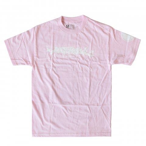 Hectopascal 2018 S/S   HECTOPASCAL LOGO Tee Pink×White