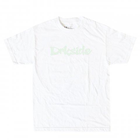 DRKside  DRK LOGO Tee White×蓄光プリント