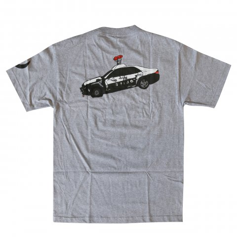 DRKside  BABYLON Tee Heather Gray
