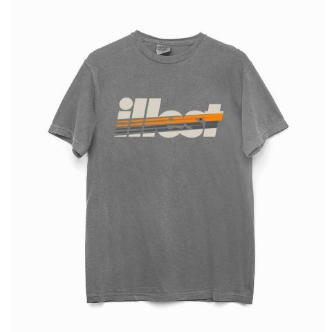 illest  STRIKE TEE GRAY
