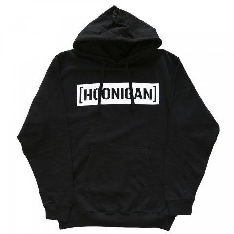 HOONIGAN  CENSOR BAR PULLOVER HOODIE BLACK