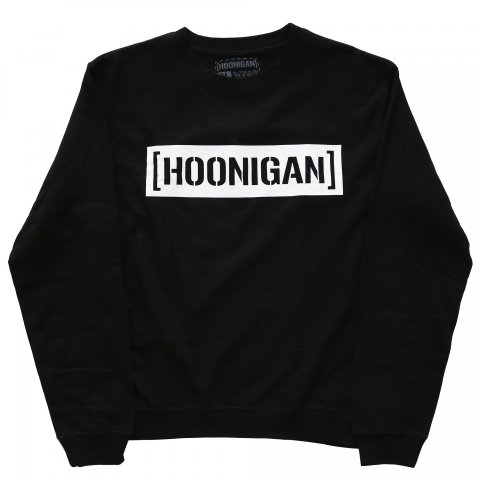 HOONIGAN  CENSOR BAR CREW FLEECE BLACK