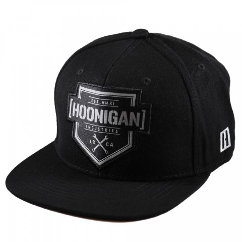 HOONIGAN  BRACKET X SNAPBACK HAT BLACK/GRAY