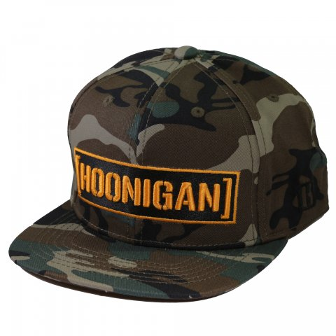 HOONIGAN  CENSOR BAR SNAPBACK CAMO/YELLOW