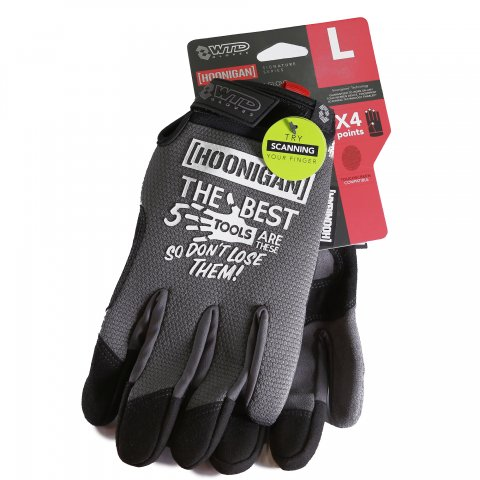 HOONIGAN  BEST FIVE TIOOLS GLOVE GRAY