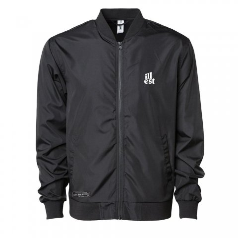 illest  BOMBER JACKET BLACK