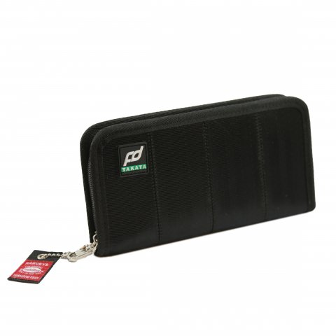 Formula DRIFT x Takata Seatbelt Wallet  Long/Black