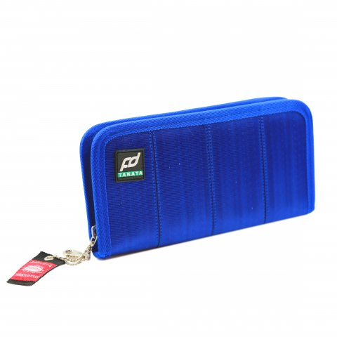 Formula DRIFT x Takata Seatbelt Wallet  Long/Blue