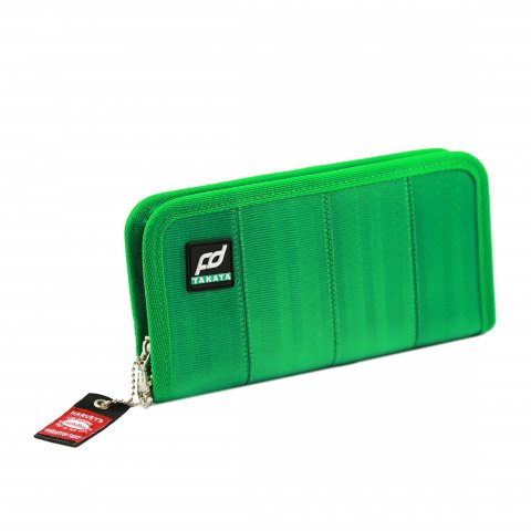 Formula DRIFT x Takata Seatbelt Wallet  Long/Green