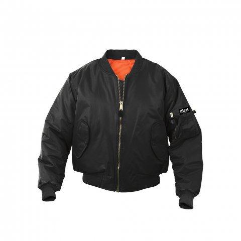 illest  MA-1 FLIGHT JACKET BLACK