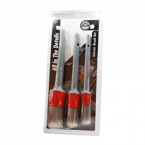Chemical Guys  Interior Details Brush Set  3 Brushes