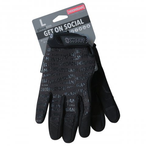 HOONIGAN  SCATTER PRINT GLOVES BLACK