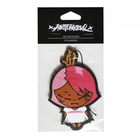 Hectopascal Original   Tie Air Freshener Strawberry