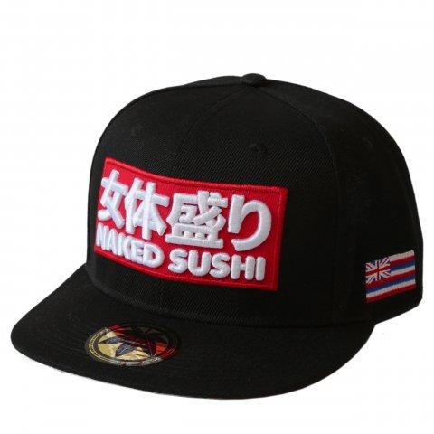 NAKED SUSHI  女体盛りLOGO HAT BLACK