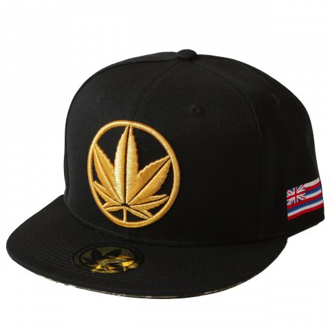 NAKED SUSHI  LOGO HAT BLACK/GOLD