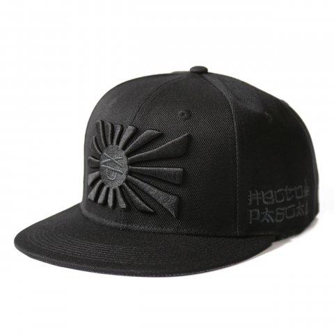 Hectopascal 2019 S/S   KYOKUJITSUKUN HAT BLACK×BLACK