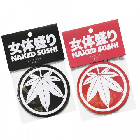 NAKED SUSHI AIR FRESHENER BLACK/RED