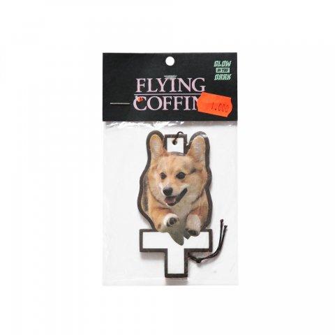 FLYING COFFIN  Hell Hound Air Freshener