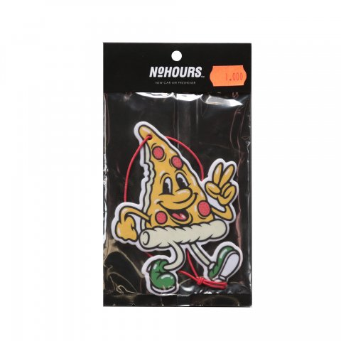 NO HOURS  Happy Pizza Air Freshener