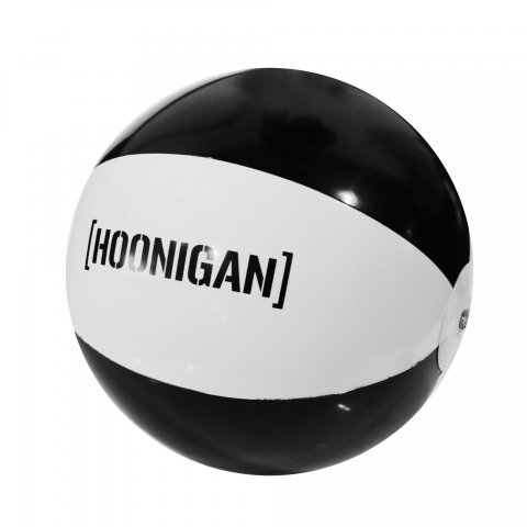 HOONIGAN  BRACKET LOGO BEACH BALL BLACK/WHITE