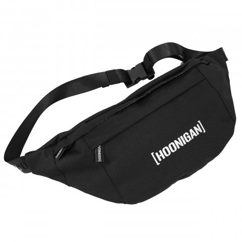 HOONIGAN  BRACKET SHOULDER BAG BLACK